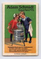 Adam Schmidt - Saalfeld - Waschmaschine - Erinnophilie
