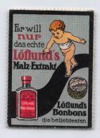 Löflund's Malz-Extrakt - Löflund's Bonbons - Erinnophilie