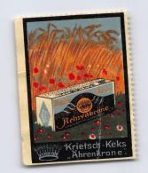 Krietsch-Keks Ahrenkrone - Erinnophilie