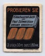 Eibischwurzel-Seife - Paul Schwarzlose - Dresden - Erinnophilie