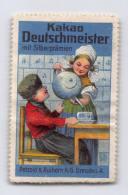 Kakao Deutschmeister Mit Silberprämien - Petzold & Aulhorn Dresden - Erinnophilie