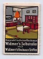 Widmer's Selbstroller - Widmer's Rouleaux-Stoffen - Erinnophilie