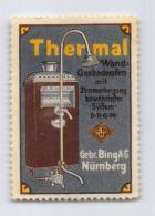 Thermal Wandgasbadeofen - Gebr. Bing Nürnberg - Erinnophilie