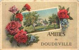 /! 1031 - CPA/CPSM - 76 : Doudeville : Amitiés De ... - Altri Comuni