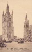 Ieper, Ypres, Het Belfort En De St Maartens Hoofdkerk (pk38818) - Ieper