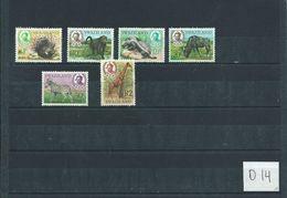 1969 Swaziland 6x Animals,dieren,tiere Cat.value 30,00 EURO MNH/Postfris/Neuf Sans Charniere(D-14) - Postzegels