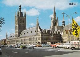Ieper, Ypres, Grote Markt, Lakenhallen Et St Maartens Katedraal (pl38838) - Ieper