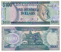 BN - Gyuana - 100 Dollars (No Date) - Guyana