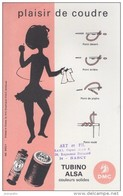 BUVARD -  DMC - Plaisir De Coudre - Turino Alsa - Buvards, Protège-cahiers Illustrés