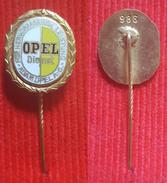 Car / Auto - OPEL Dienst - FOR HERVORRAGENDE LEISTUNG, ADAM OPEL, No. 986 - Badge / Pin  -  Abzeichen - Opel