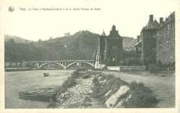 """HUY - Le Pont """"Hesbaye-Condroz"""" Et La Vieille Maison De Batta - Hoei"""