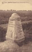 Ieper, Ypres, Hell Fire Cornes, British Demarcation Stone (pk38863) - Ieper