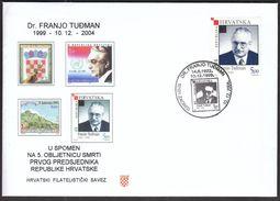 Croatia Zagreb 2004 / Dr Franjo Tudman / Politician And Historian / First Croatian President - Celebrità