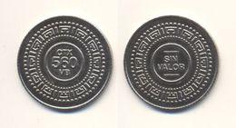 USA SIN VALOR CTX 560 VB TOKEN JETON GETTONE Metal Ø27,2mm - USA