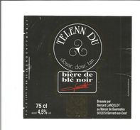 Etiquette De BIERE TELENN DU ( Bière De Blé Noir De Bretagne ) - Beer
