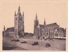 """Ieper, Ypres, Miniatuur Postkaart, Uit Reeks """"Ken Uw Land""""  Grote Markt Koning Albert  (pk38899) - Ieper"""
