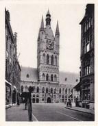 Ieper, Ypres, Miniatuur Postkaart, De Hallen Vanaf De Rijselstraat  (pk38901) - Ieper