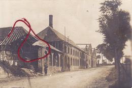 Bucquoy Strasse Carte  Photo Allemande - Autres Communes