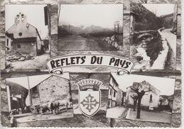 CPSM Escouloubre - Reflets Du Pays (avec 5 Vues Et Blason) - Other Municipalities