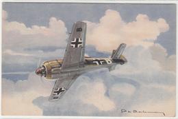 AVION FOCKE-WULF -ILLUSTRATEUR  -2scans -TBE - 1946-....: Ere Moderne
