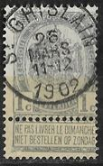 _7Be-578:N°53:: Type E11: ST-GHISLAIN - 1893-1907 Armoiries