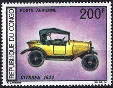 Congo (Braz) 1968 - Car Citroën 1922 ( Mi 160 - YT Pa 68 ) MNH** Airmail - Congo - Brazzaville