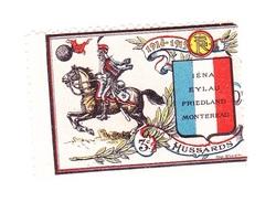 Vignette Militaire Delandre - 3ème Régiment De Hussards - Vignettes Militaires