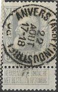 _7Be-576:N°78:: Type E11: ANVERS(AV. DE L'INDUSTRIE) - 1905 Grosse Barbe