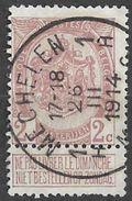 _7Be-575:N°82:: Type G16: 1H MECHELEB 1H - 1893-1907 Armoiries