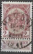 _7Be-572: N°82: Type E11a: HAMONT: Franse Maand Na 01.11.1910 - 1893-1907 Armoiries