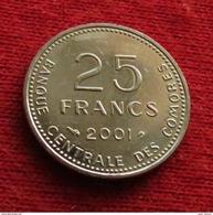 Comoros 25 Fr. 2001  Unc  Comores - Comoros