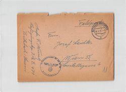 10155 02  FELDPOST BUTZBACH TO WIEN - Germany