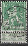 _7Be-567: N°110: Type E18 : KNESSELAERE 4 VIII 1914.... Begin Oorlog 14-18 - 1912 Pellens