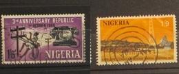 Nigeria 1966 And 1971 Communications - Nigeria (1961-...)