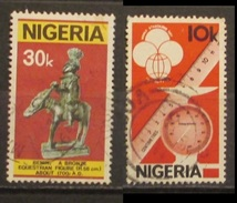 Nigeria 1978 Equestrian Figure Bronze Benin  1980 World Standard - Nigeria (1961-...)
