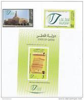 Qatar,new Issue 2012- 2 V.+ 1 S.sheet 90th Years Of Qatari Endowment Deed -SKRILL PAY.ONLY-  MNH - Qatar