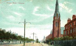 1907  PRINCES ROAD  LIVERPOOL - Liverpool