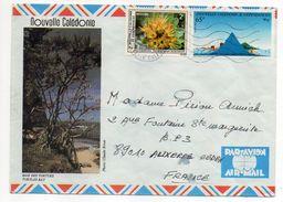 Nlle Calédonie--1985--Lettre Nouméa  Pour Auxerre-89- Tp Env Illustrée (baie Des Tortues)  Recto-verso - Briefe U. Dokumente