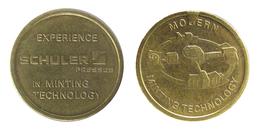 00522 GETTONE TOKEN JETON FICHA ADVERTISING SCHULER PRESSES MINTING TECHNOLOGY - Allemagne