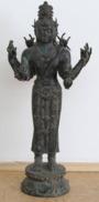 Shiva 17/18 Jh. China Skulptur, Bronze, Sculpture Antik - Bronzes