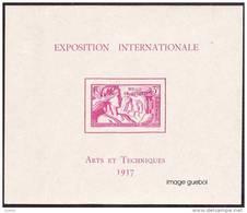 Détail De La Série Exposition Internationale De Paris * Wallis Et Futuna N° Bloc 1 - 1937 Exposition Internationale De Paris
