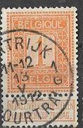 _7Be-544: N°108: Type G16: 1B KORTRIJK 1B COURTRAI - 1912 Pellens