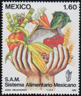 MEXICO - Scott #1301 Mexican Food System (*) / Mint NH Stamp - Agriculture