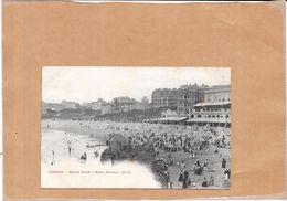 BIARRITZ   64 -  Grande Plage Et Hotel Victoria N° 64  - LYO1 - - Biarritz