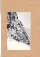 CHAMONIX MONT BLANC - 74 - CPA DOS SIMPLE - Le Mauvais Pas - LYO1 - - Chamonix-Mont-Blanc