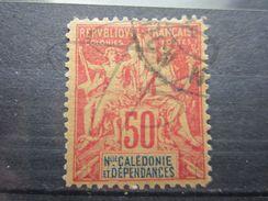 VEND BEAU TIMBRE DE NOUVELLE-CALEDONIE N° 51 , FAUX !!! - Usados