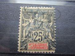 VEND BEAU TIMBRE DE NOUVELLE-CALEDONIE N° 75 , FAUX !!! - Usados