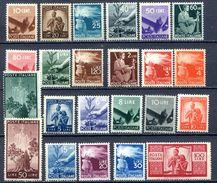 ITALIA  REPUBBLICA  1946 SERIE DEMOCRATICA S.130 == MNH** - 1946-60: Neufs
