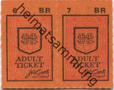 Kanada - Canada - HSR - Hamilton Street Railway - Fahrkarte - Monde