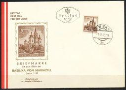 Österreich-   Mi Nr.  1073    FDC  1960 ,  Mariazell    Freimarke Für Automaten - FDC
